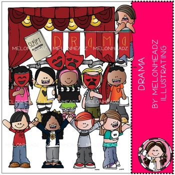 Drama clip art - COMBO PACK - by Melonheadz