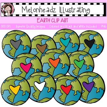 Earth clip art - Single Image - by Melonheadz