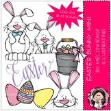 Easter Bunny clip art - Mini - by Melonheadz