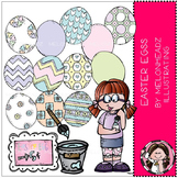 Easter Eggs clip art - COMBO PACK - by Melonheadz