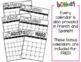 Editable Calendar 2018-2019 WITH Lifetime Updates (English|Spanish|French)