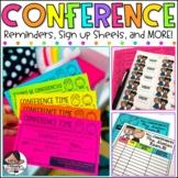 Parent Teacher Conference Reminder   Scheduling Sheet   Reminder Stickers
