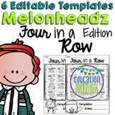 Melonheadz Edition Editable Four in a Row