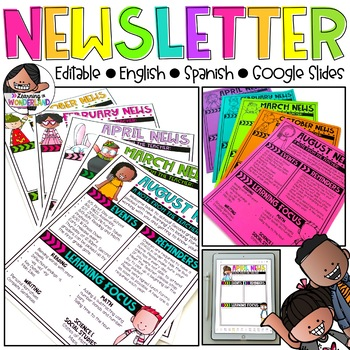 Editable Newsletter Templates {Melonheadz Edition}