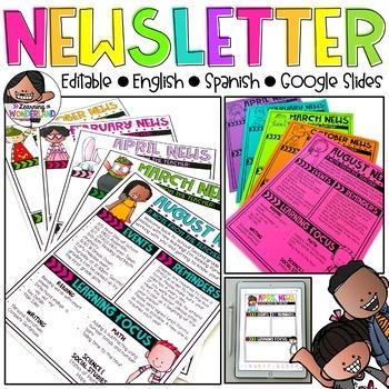 Editable Newsletter Templates {Kidlettes Edition}