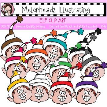 Melonheadz: Elf clip art - Single Image