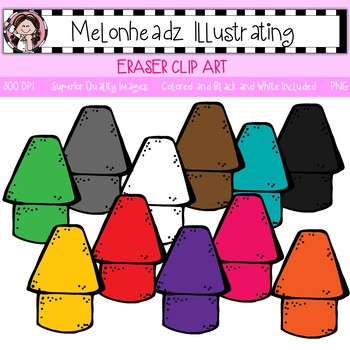 Melonheadz: Eraser clip art - Single Image