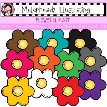 Flower clip art - Single Image - by Melonheadz