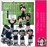 Football clip art - Set 2 - by Melonheadz
