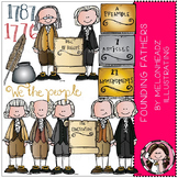 Founding Fathers clip art - COMBO PACK - by Melonheadz
