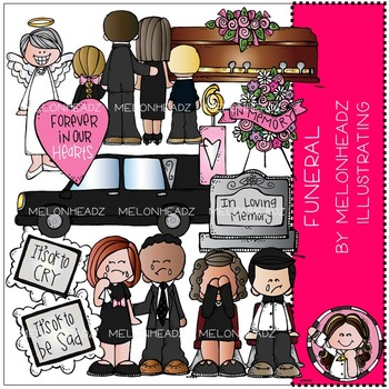 Funeral clip art - Combo Pack - by Melonheadz