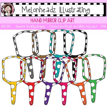 Melonheadz: Hand Mirror clip art - Single Image
