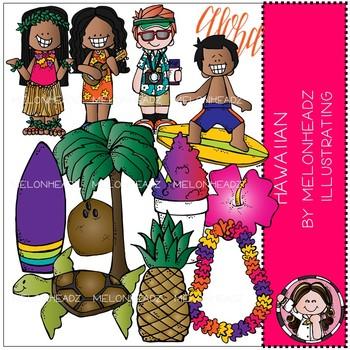 Hawaiian clip art - COMBO PACK - by Melonheadz