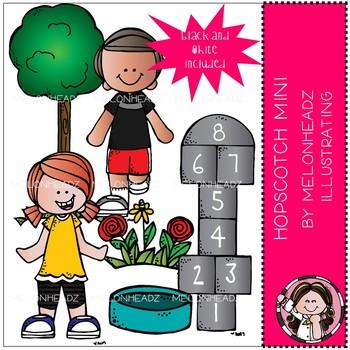 Melonheadz: Hopscotch clip art Mini Set