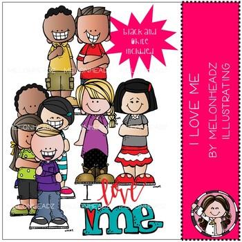 I Love Me clip art - Mini - by Melonheadz