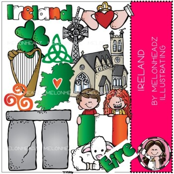 Ireland clip art - COMBO PACK - by Melonheadz