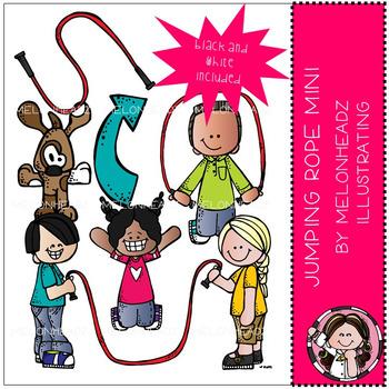 Melonheadz: Jumping Rope clip art Mini set