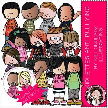 Kidlettes clip art - Anti Bullying - by Melonheadz