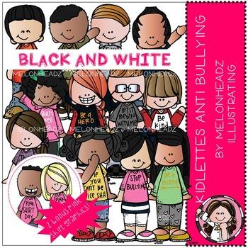 Melonheadz: Kidlettes Anti Bullying BLACK AND WHITE