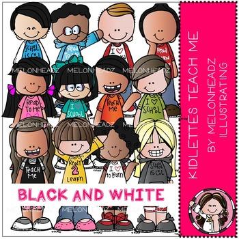 Melonheadz: Kidlettes Teach Me BLACK AND WHITE