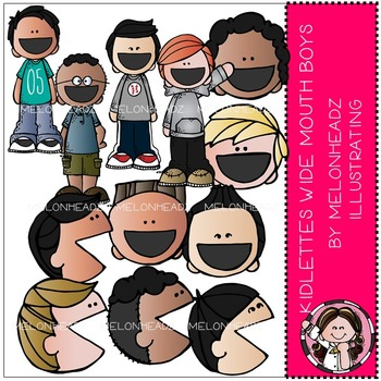 Melonheadz: Kidlettes Wide Mouthed Boys COMBO PACK