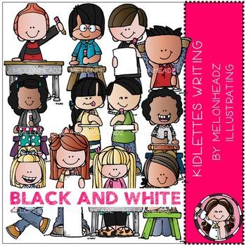 Melonheadz: Kidlettes Writing BLACK AND WHITE