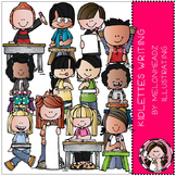Kidlettes Writing clip art - COMBO PACK - by Melonheadz