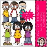 Melonheadz: Kidlettes clip art - Big Glasses - Mini