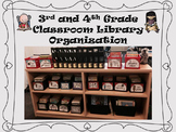 Melonheadz Kids Themed Library Organization for 3rd and 4th Grade