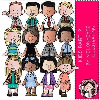 Melonheadz: Kids clip art Part 2 - COMBO PACK