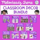 Melonheadz Kids Themed Classroom Decor Bundle Bright & Colorful