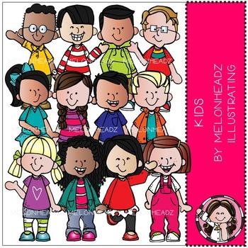 Melonheadz: Kids clip art - Combo Pack