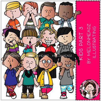 Clipart melonheadz kids teaching resources teachers pay teachers melonheadz kids clip art part 3 voltagebd Gallery