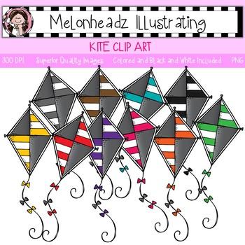 Melonheadz: Kite clip art - Single Image