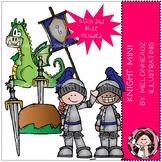 Melonheadz: Knight clip art Mini Set