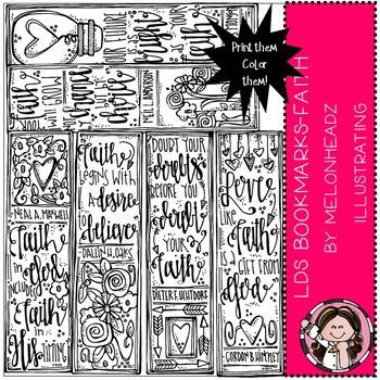 Melonheadz: LDS Bookmarks clip art - Printables - Faith