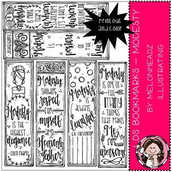 Melonheadz: LDS Bookmarks clip art - Printables - Modesty