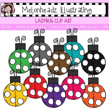 Melonheadz: Ladybug clip art - Single Image