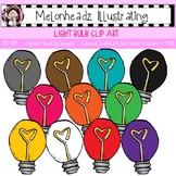 Light Bulb clip art - Single Image - by Melonheadz