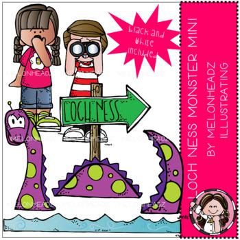 Loch Ness Monster clip art  - Mini - by Melonheadz
