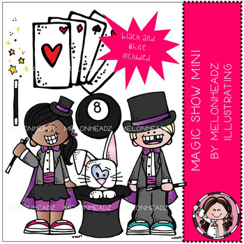 Magic Show clip art - Mini - by Melonheadz