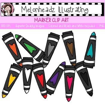 Melonheadz: Marker clip art - Single Image