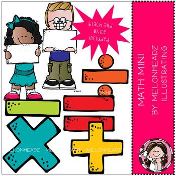 Melonheadz: Math clip art Mini set