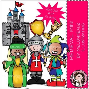 Melonheadz: Medieval clip art Mini Set