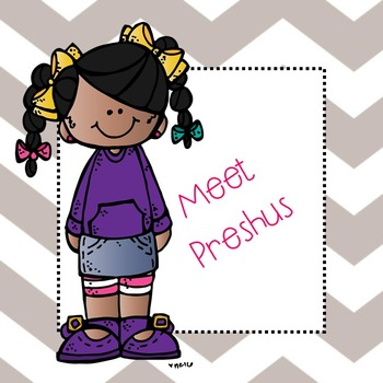 Meet Preshus clip art - Freebie - by Melonheadz