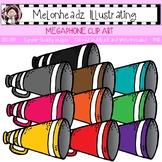 Megaphone clip art - Single Image - by Melonheadz
