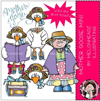 Melonheadz: Mother Goose clip art Mini Set