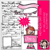 Mother's Day clip art / printable - 2016 - by Melonheadz