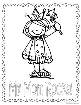 Mother's Day Card worksheet
