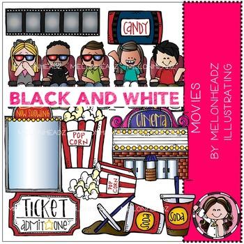 Melonheadz: Movies BLACK AND WHITE